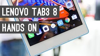 Lenovo Tab3 8: Quick Review of a 99$ Tablet with Marshmallow