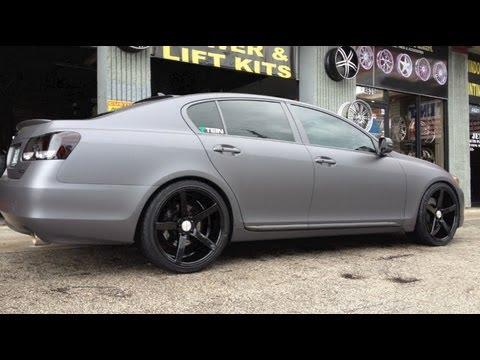 3m Certified Lexus Gs Full Wrap Seamless 3m Matte Gray Carwrap