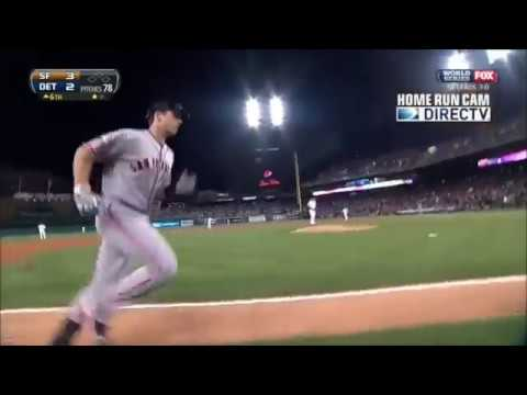 Buster Posey World Series Home Run 2012