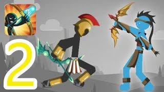 Mr Bow | Sparta VS Navi Stickman Archer | Gameplay 2019 (Part 2) FHD