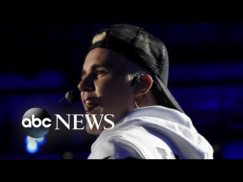 Justin Bieber explains why he unexpectedly canceled tour