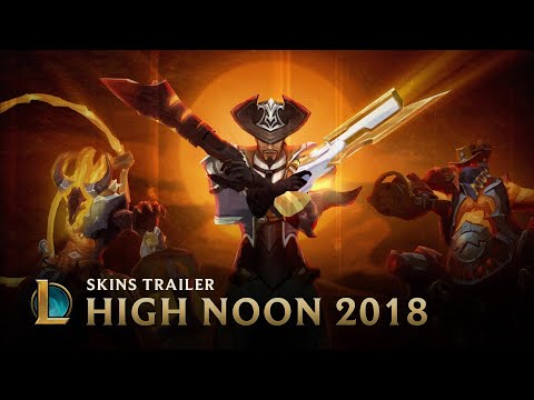 The Devils Among Us | High Noon 2018 Skins Trailer - League of Legends