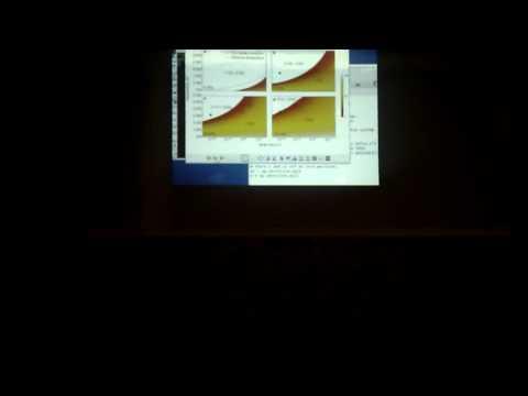 Bret Spencer presenting to Seattle Geo-engineering meetup.