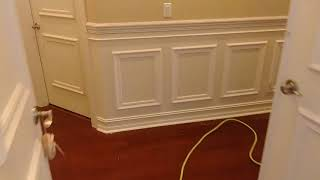 Chair rail - trim job in Del Ray