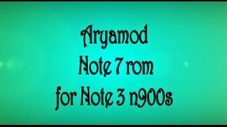Galaxy note 3 rom darklord reborn v4