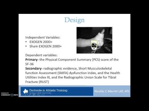 Therapeutic Ultrasound For Fracture Treatment