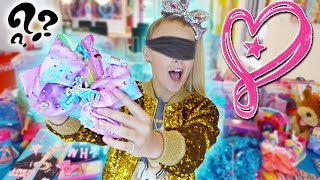 GUESS THAT JOJO MERCH CHALLENGE!! *Blindfolded*