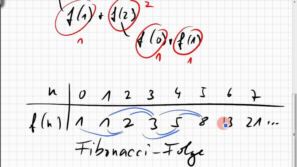 07b 4 rekursive funktionsdefinition fibonacci folge youtube. Black Bedroom Furniture Sets. Home Design Ideas