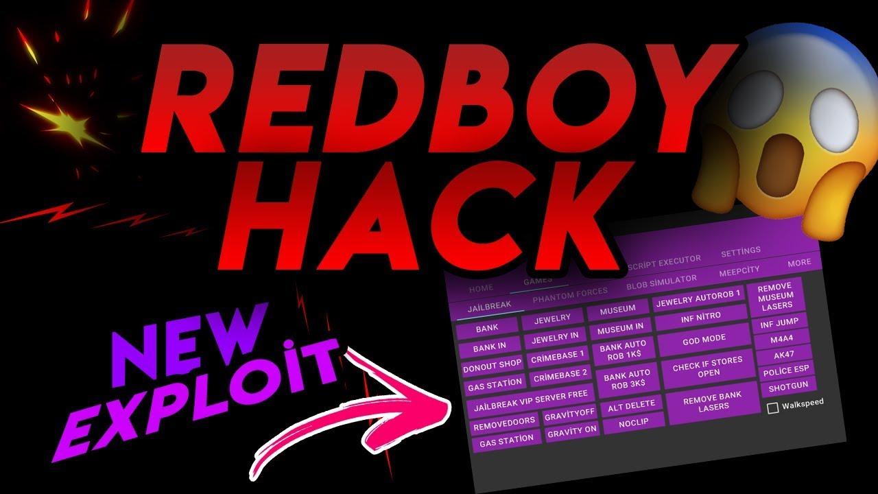 hack jailbreak 2018 red boy