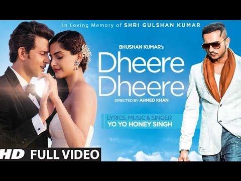 Dheere Dheere Se Meri Zindagi Song Lyrics || Hrithik Roshan, Sonam Kapoor | Yo Yo Honey Singh