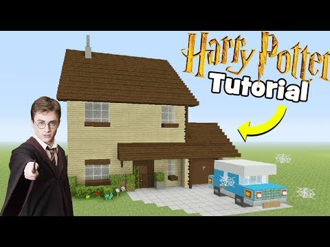 """Minecraft Tutorial: How To Make Harry Potters House """"Number 4 Privet Drive"""""""