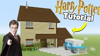 Minecraft Tutorial: How To Make Harry Potters House \
