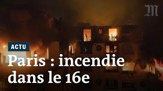 Incendie Paris 16 : au moins 10 morts au 17 rue Erlanger