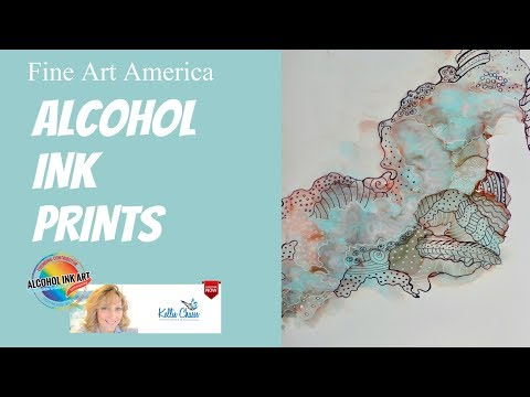 Make Prints of your artwork - Quick Tutorial on downloading an image to Fine Art America