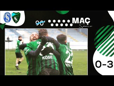 Sarıyer Kocaelispor 0-3 maçı Golleri 27.01.2021   Kocaelispor Sevdası