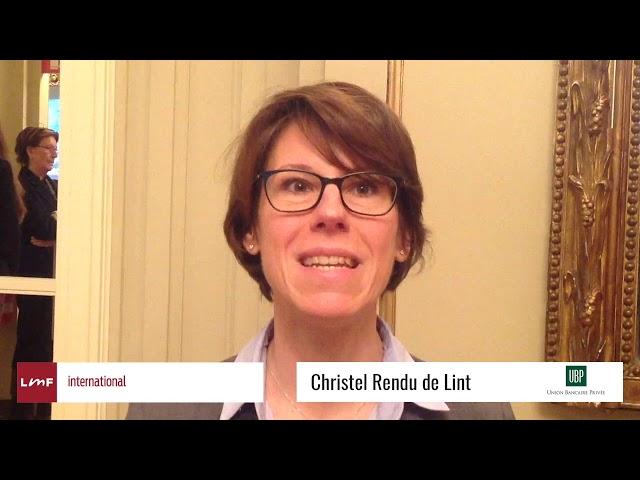 Outlook 2019 Fixed Income - Christel Rendu De Lint (UBP)