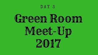 Green Room Meet-up Day 3 Garage Sales and Dinner Event 2017