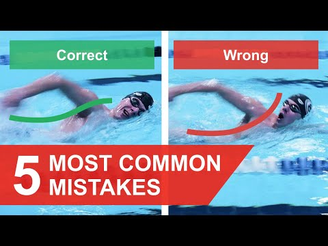 FREESTYLE SWIMMING: 5 MOST COMMON MISTAKES