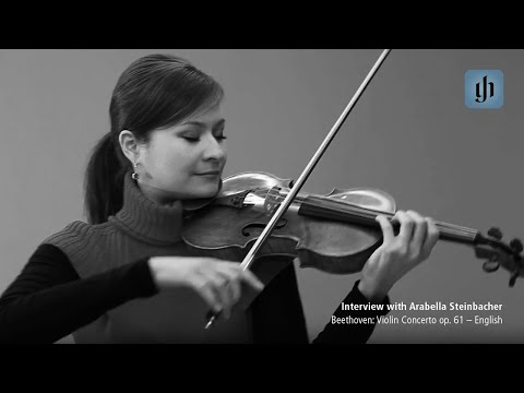 Beethoven: Violin Concerto op. 61 - English - interview with Arabella Steinbacher