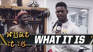 Steelers Antonio Brown & JuJu Smith-Schuster go back to school | What It Is