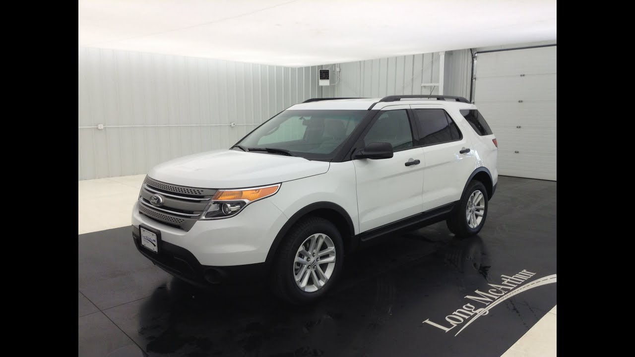 new 2015 ford explorer base walkaround - Ford Explorer 2015