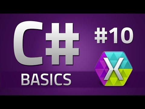 10. How to program in C# - CLASSES - Beginner Tutorial