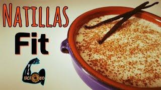 NATILLAS FIT (en microondas) | Recetas Fitness