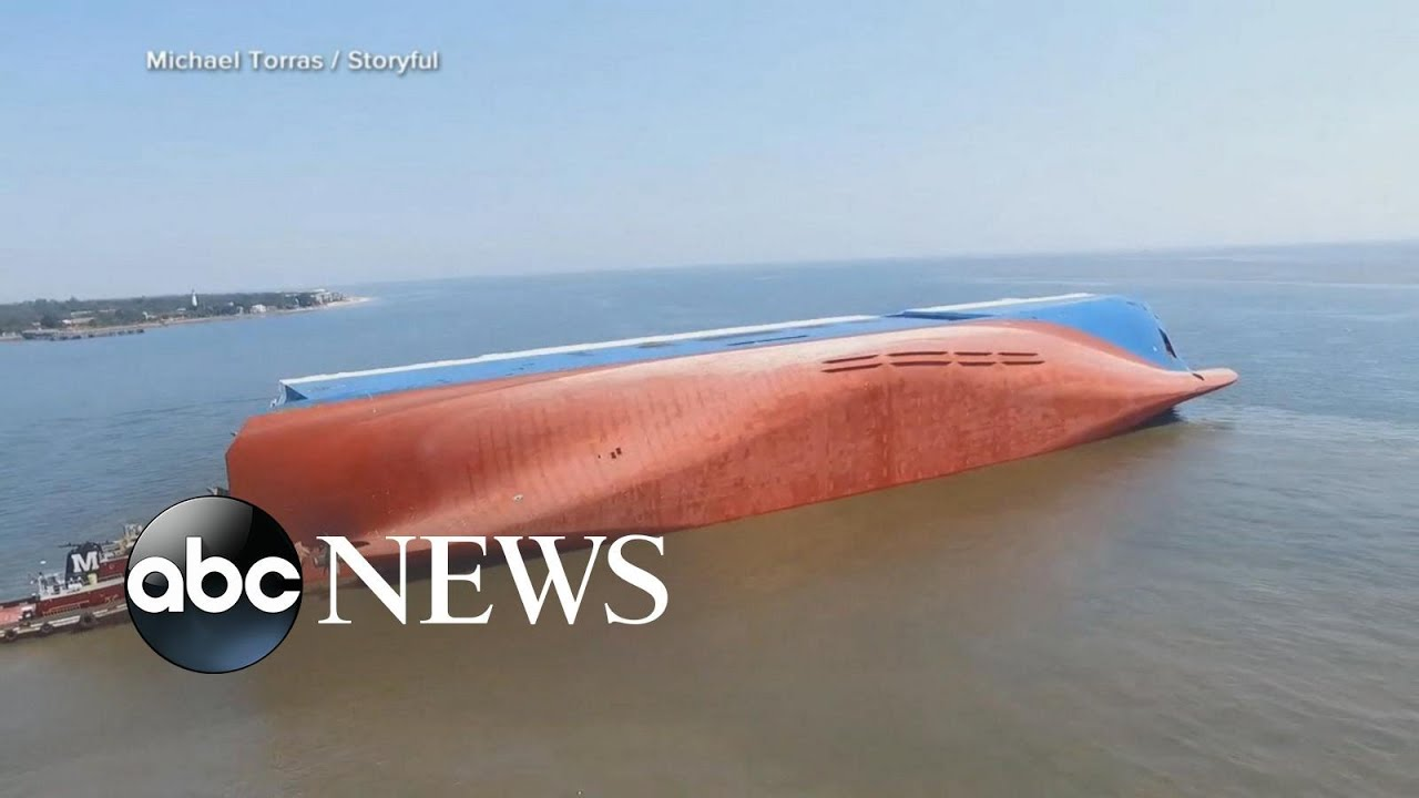 Cargo ship capsizes, Trump cancels Taliban talks, new gun policy poll  ABC News
