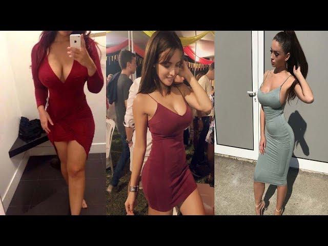 Hot Curvy Women Fashion In Short & MINI Dresses