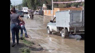 Fuertes lluvias afectan a familias en San Juan de Abajo