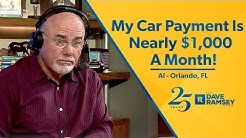 My Car Payment Is Nearly $1,000/month!