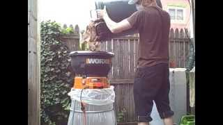 Worx Leaf Shredder Review