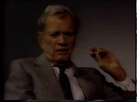 Joseph Cotten, Patricia Medina--Rare 1987 TV Interview