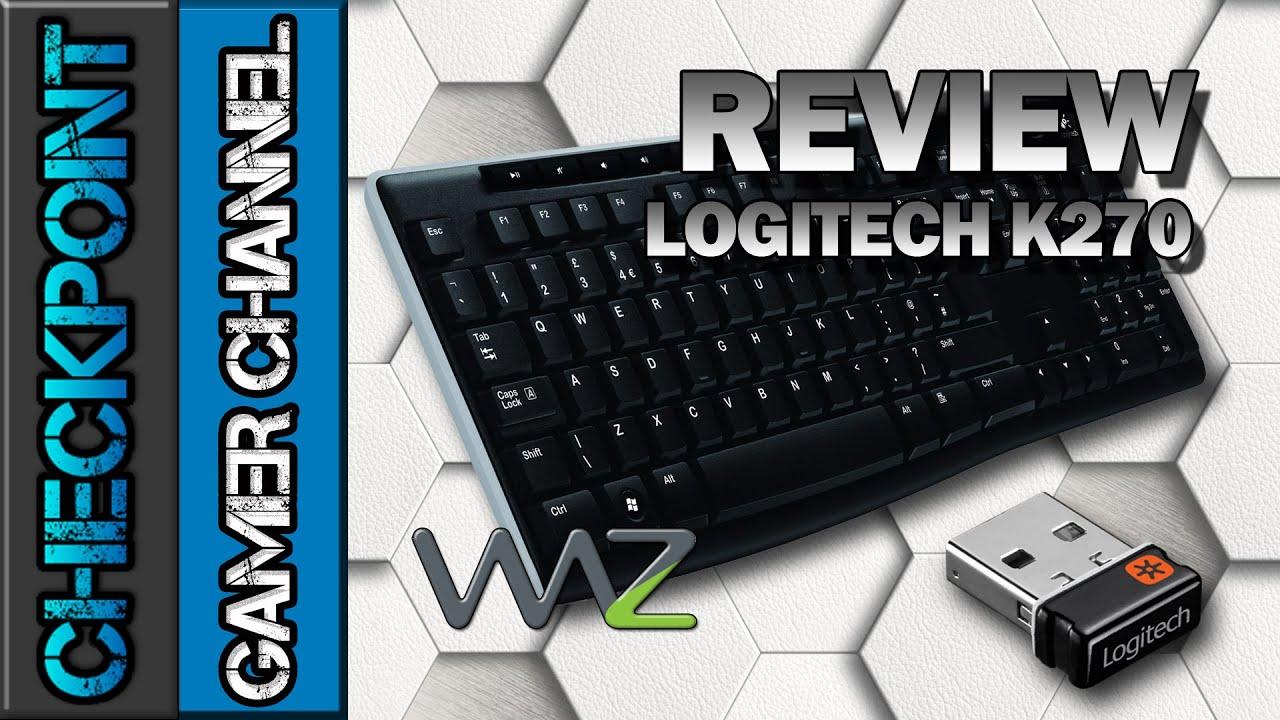 Logitech K270 – Review & Unboxing (PT-BR)