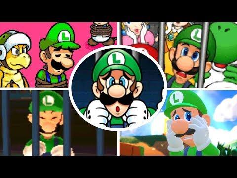 Evolution of Luigi Being Rescued 1995-2018