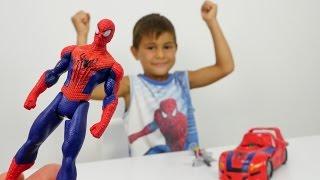 Türkçe izle - erkek çocuk oyunları/videoları. Mikayıl ve örümcek Adam, Om Nom çizgi film oyuncakları