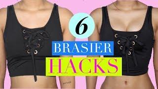 6 Bra Hacks que toda chica debe de conocer!  | RACHZX 🖤