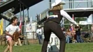 Boot Kick Off / Stick Horse Races - Sheridan Wyo Rodeo 2010