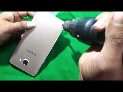 HOW TO:-OPEN SAMSUNG A7 (6) LCD ,PDA AND BACK COVER