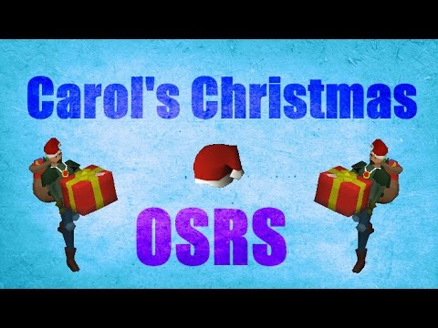 Carol's Christmas Event 2016 Guide Old School Runescape 2007 ...