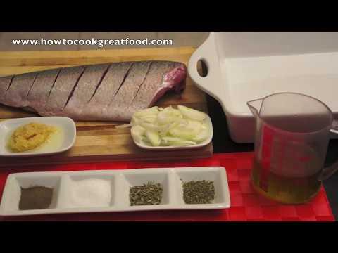 Herb Baked Seabass Recipe - Sea Bass Oven Fish
