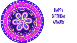 Amaury   Indian Designs - Happy Birthday