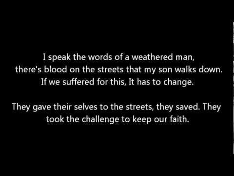 While She Sleeps - Love at War [Lyrics]