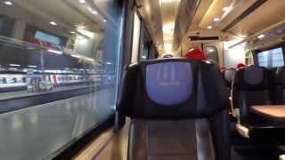 Leaving London St Pancras On A East Midlands Trains Class 222 (04/4/15)