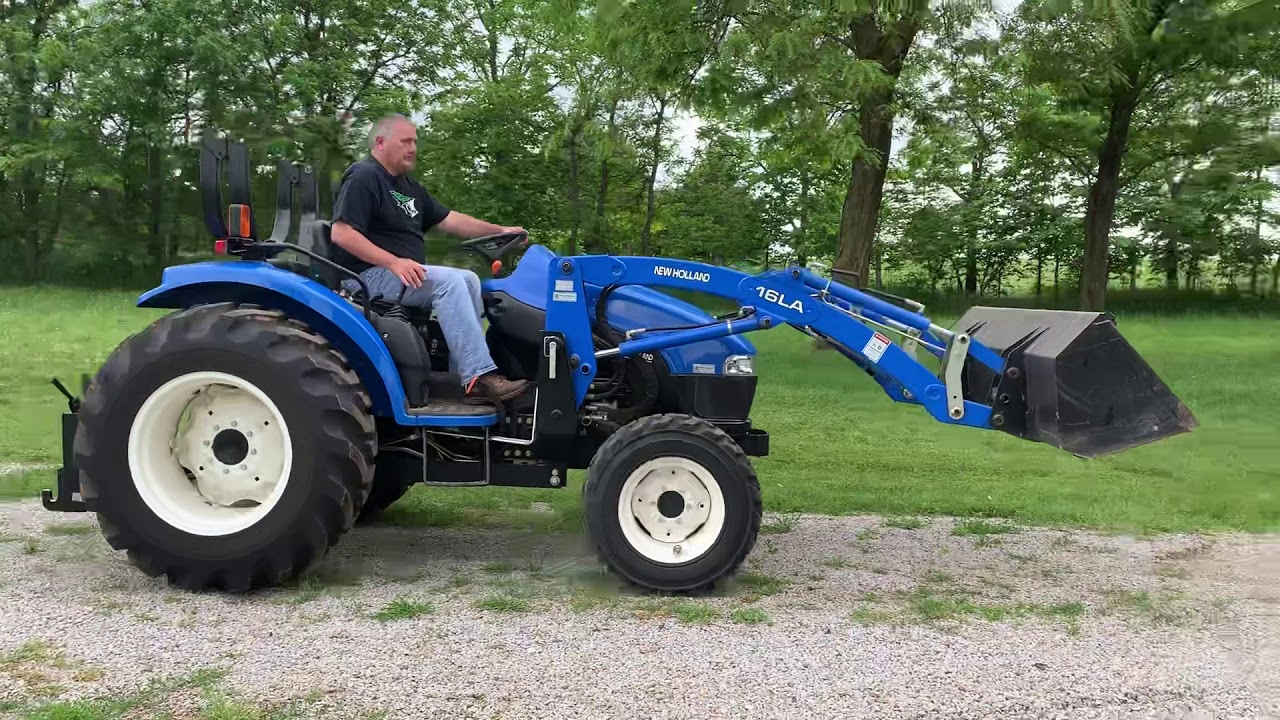 2003 New Holland Boomer TC45D Tractor – #1214