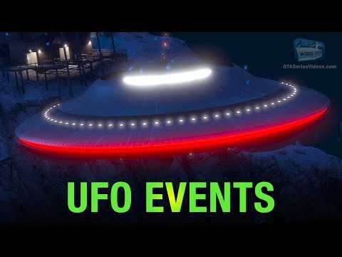 GTA Online UFO Events (Snowy Weather)
