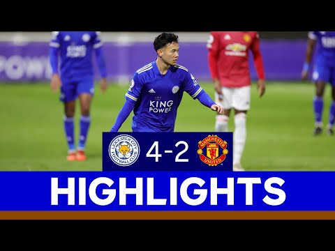 Leicester City U23s 4 Manchester United U23s 2 | Premier League 2