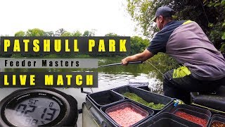 PATSHULL PARK £12,000 LIVE MATCH QUALIFIER - FEEDER MASTERS FEEDER FISHING