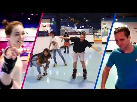 Roller Skating with Polina ft. Kappa