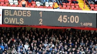 Derby double! | Sheffield United 1 Sheffield Wednesday 2 | 7 February 2009